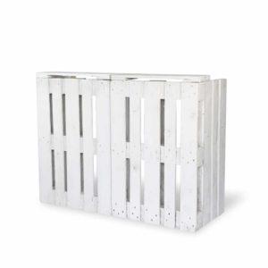 Bar paletowy biały