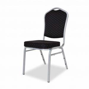 Krzesło bankietowe czarne