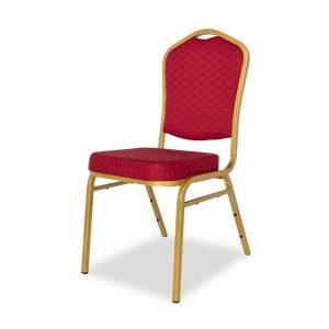 Krzesło bankietowe czerwone