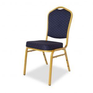 Krzesło bankietowe niebieskie