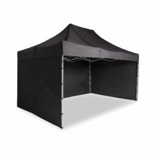 Namiot ekspresowy 3x4,5 czarny