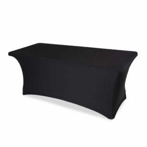 Pokrowiec na stół cateringowy czarny