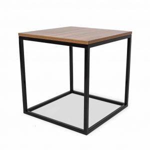 Stolik kawowy Frame 50 wood czarny