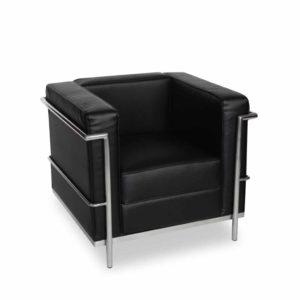 Fotel ekoskóra Vega czarny