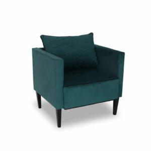 Fotel tapicerowany Viva zielony