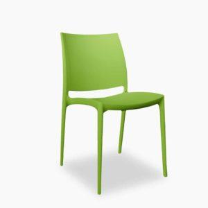 Krzesło Maya zielone