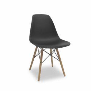 Krzesło Paris czarne
