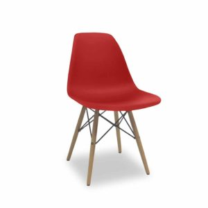 Krzesło Paris czerwone