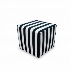 Pufa tapicerowana Casa zebra