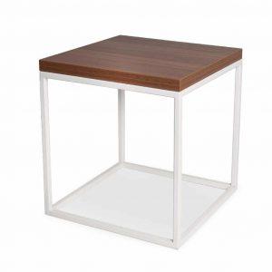 Stolik kawowy Frame 50 wood biały
