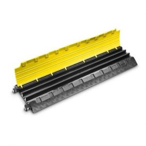 Najazd kablowy Defender MINI - 3 kanałowy żółto-czarny